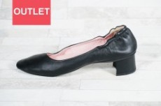 【seesaw lady's】ソフトパンプス SW-10125 BLACK