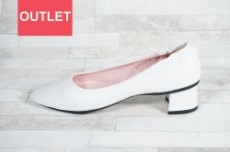 【seesaw lady's】ソフトパンプス SW-10125 WHITE