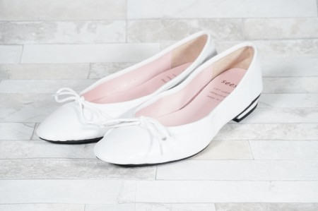 【seesaw lady's】ソフトバレエシューズ SW-10126 WHITE